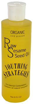 Raw Organic Sesame Oil
